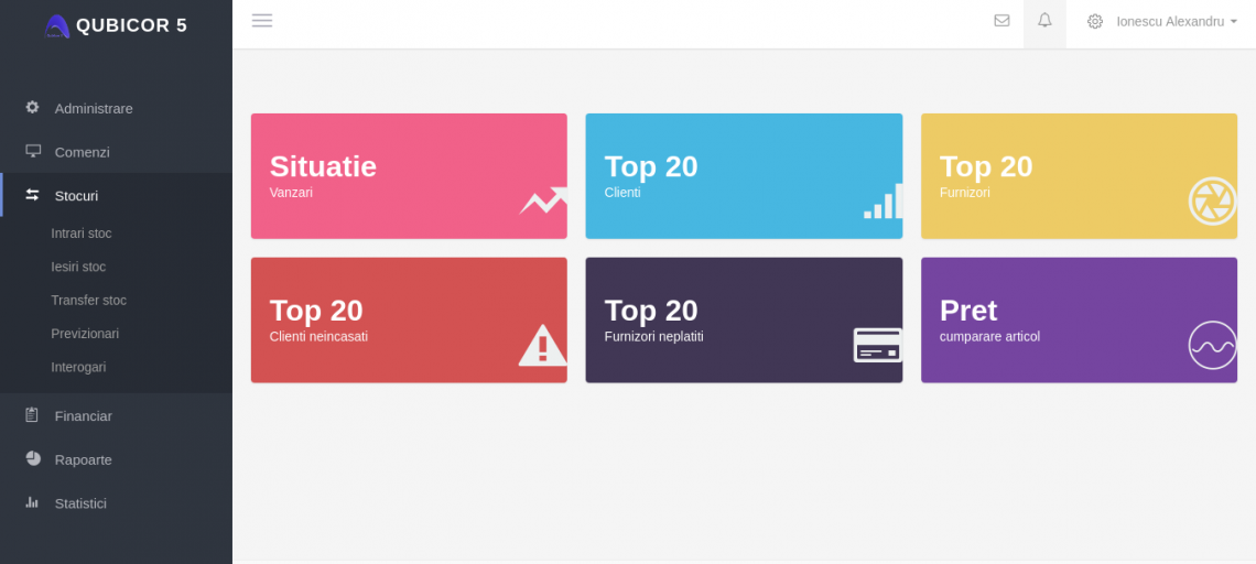 Qubicor 5 – Platforma online de management al afacerii