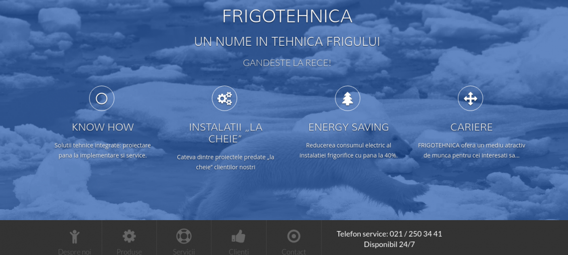Website Frigotehnica