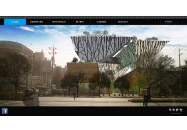 Website OOPY Arhitectura